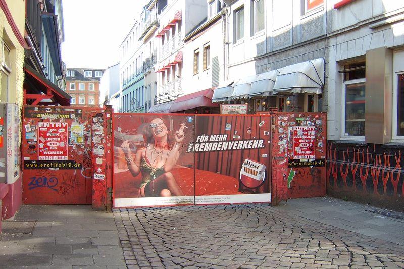 Herbertstrasse, Reeperbahn
