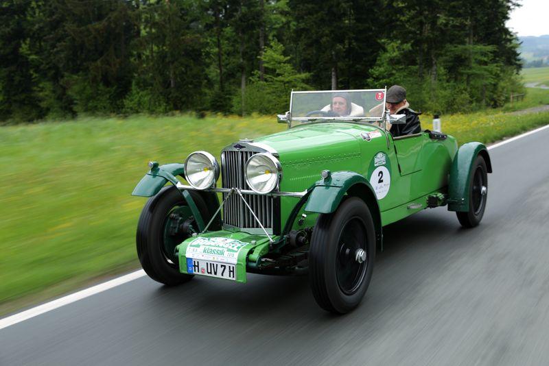 Talbot London 90 AV, Baujahr 1933