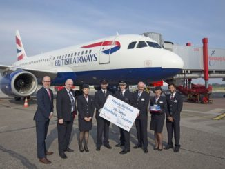 British Airways feiert 70. Jubiläum auf der Route Hamburg-London