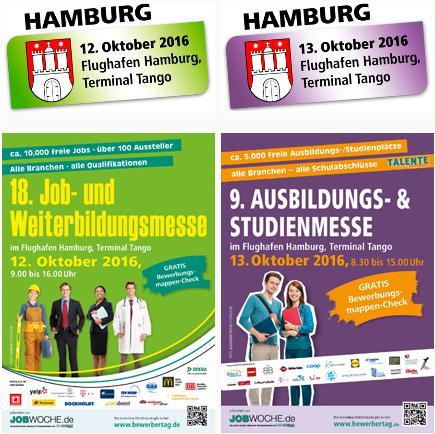 Weiterbildungsmesse in Hamburg