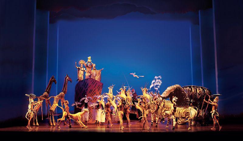 15 Jahre König der Löwen - ein Bühnenkunstwerk feiert Geburtstag