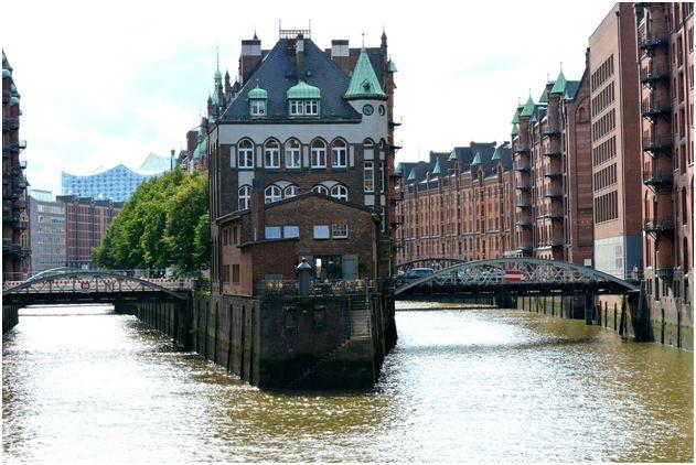 Die altehrwürdige Speicherstadt Hamburgs
