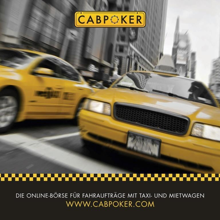 Die erste Online-Börse für Fahraufträge mit Taxi- und Mietwagen