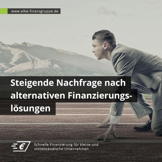 Steigende Nachfrage nach alternativen Finanzierungslösungen