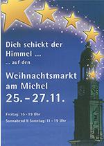 Weihnachtsmarkt am Michel