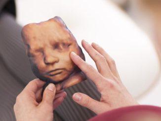 Babyfotos aus dem Bauch