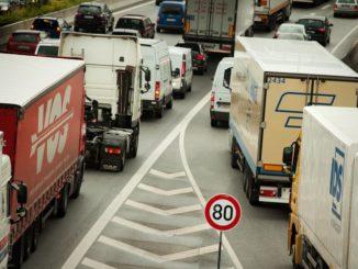 Der Lkw-Verkehr nimmt immer weiter zu
