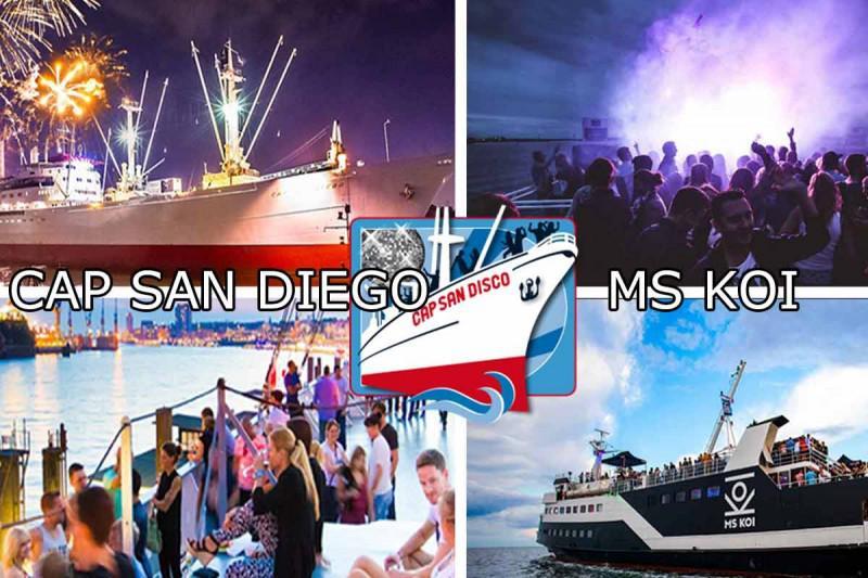 Disco-Cruise auf der MS Koi