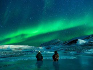 Aurora - Wetterphämomen am Nordischen Nachthimmel
