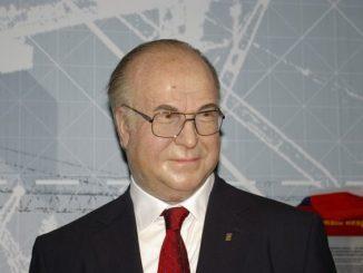 Helmut Kohl als Figur bei Madame Tussaud