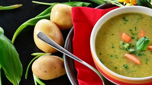 Vegane Suppen liegen voll im Trend