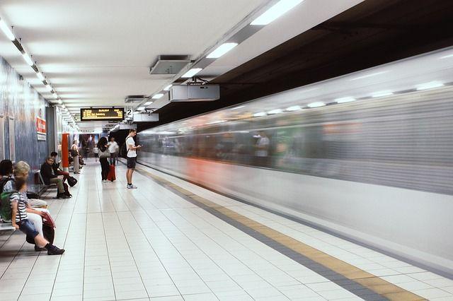 Behinderungen beim U-Bahnverkehr
