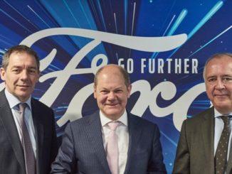 Olaf Scholz diskutierte mit Vertretern der globalen Ford-Unternehmensführung über künftige Mobilitätskonzepte