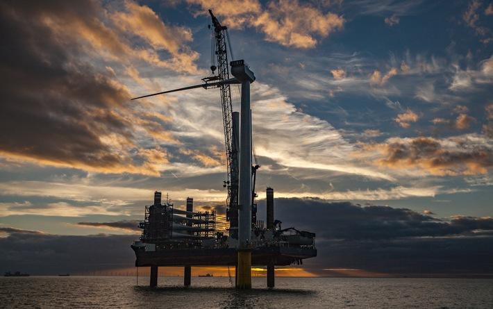 Und hier der Offshore-Windpark Burbo Bank Extension bei Liverpool