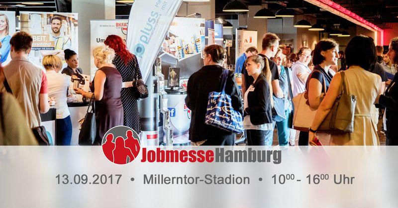 6. Jobmesse Hamburg am 13. September 2017 im Millerntor-Stadion