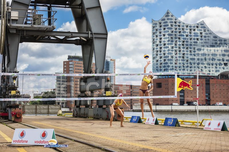 Online bei den Swatch Beach Volleyball World Tour Finals