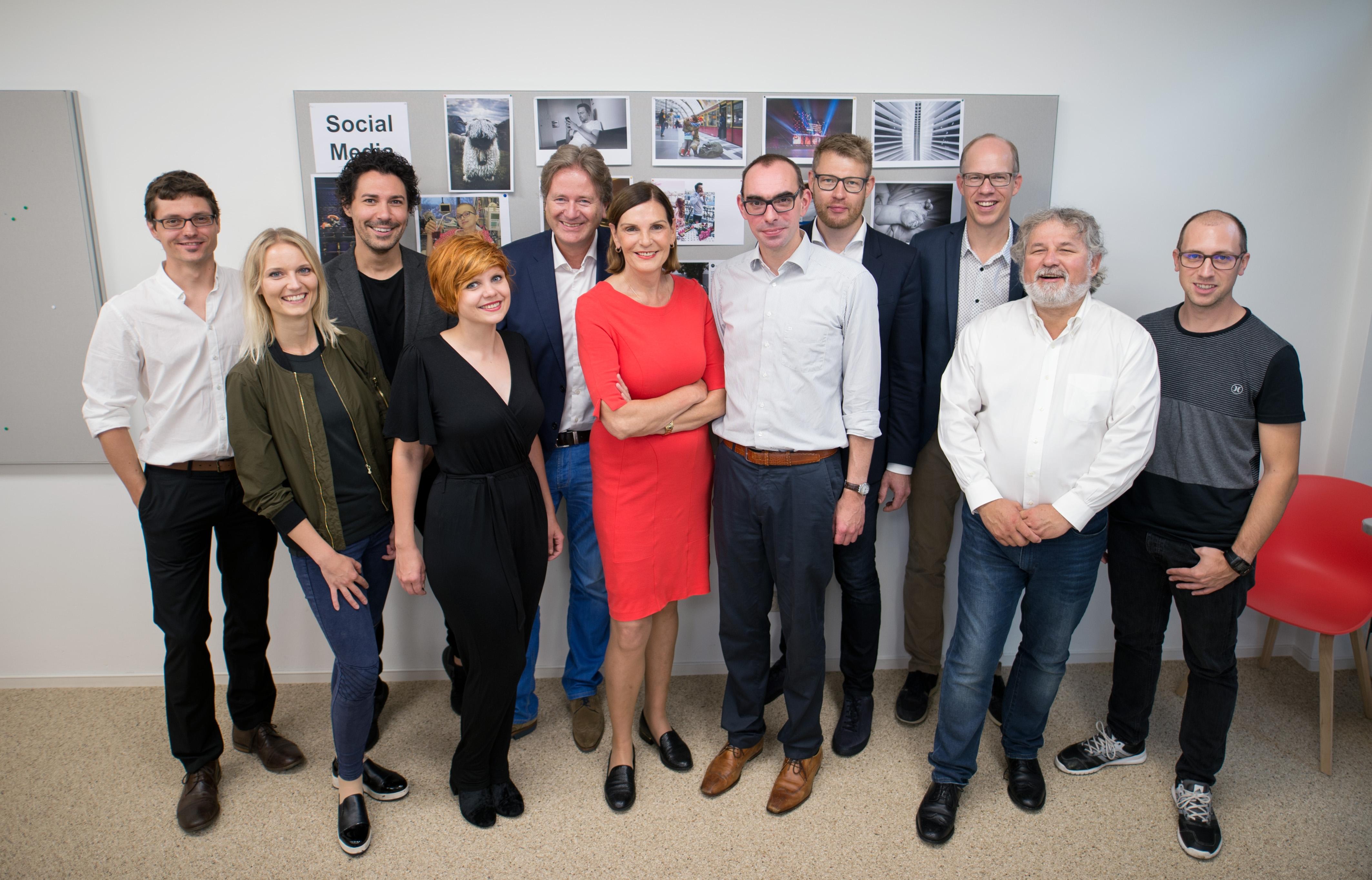 Jurysitzung des PR-Bild Award 2017