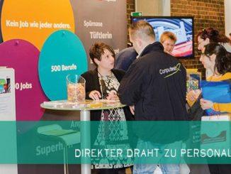 Auf Norddeutschlands größter Karrieremesse kommt man mit den Personalchefs dirket ins Gespräch