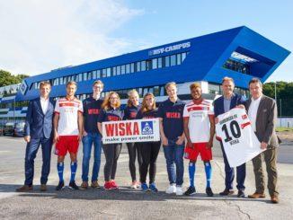 Norddeutsches Industrieunternehmen Wiska wird offizieller Förderer des HSV-Nachwuchses
