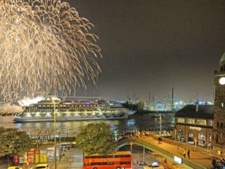 In Hamburg startete die erste Aida Weltreise