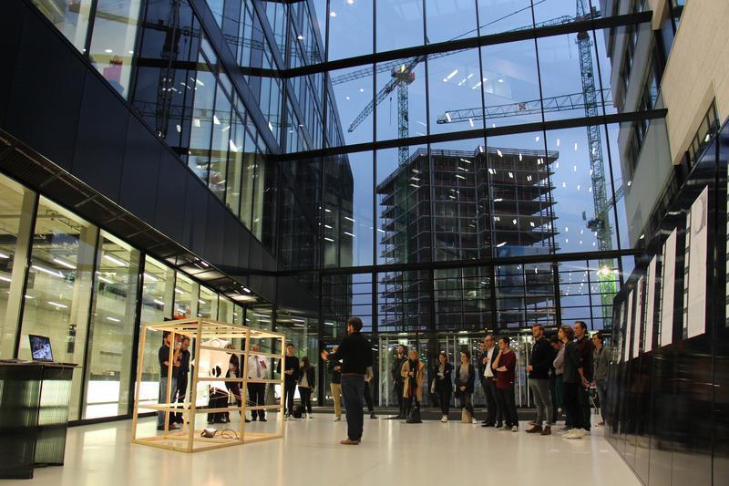 Präsentation im Foyer der HCU Hamburg (HCU Hamburg)