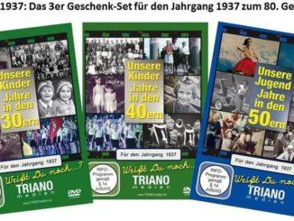 """Geschenksets: """"Unsere Kinder-Jahre i.d. 30ern, 40ern + Jugend-Jahre"""