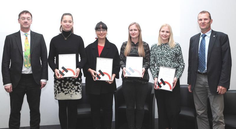 Preisträgerinnen des HOLCIM-Preises 2017