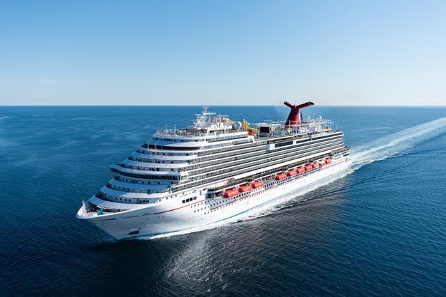 Die Carnival Vista gab der neuen Klasse den Namen. Im November 2019 sticht mit der Carnival Panorama