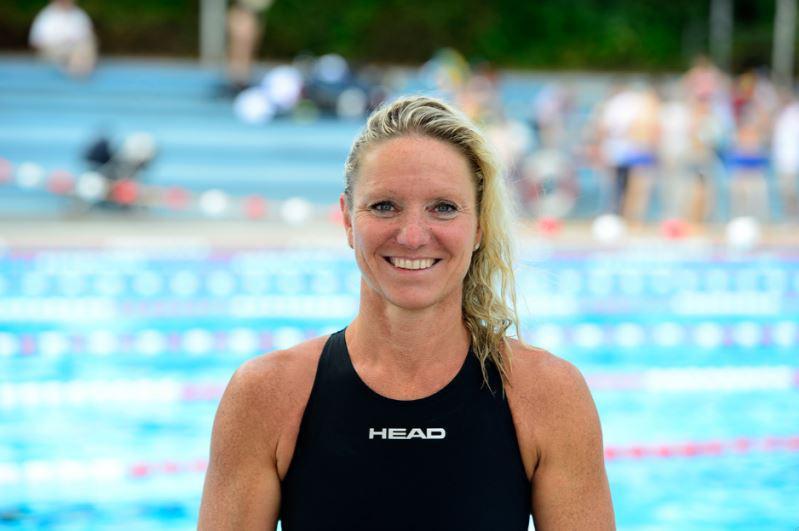 Olympiasiegerin und Weltmeisterin im Schwimmen Kirsten Bruhn