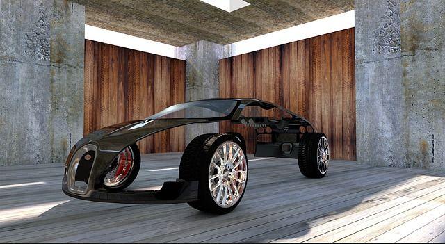Stilisiertes Beispielfoto eines Bugattis