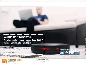 Werbemarktanalyse Bodenreinigungsgeräte 2017