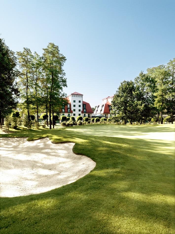 Drei 18-Loch-Golfplätze sowie ein 9-Loch-Platz stehen Gästen des A-Rosa Scharmützelsee zur Verfügung
