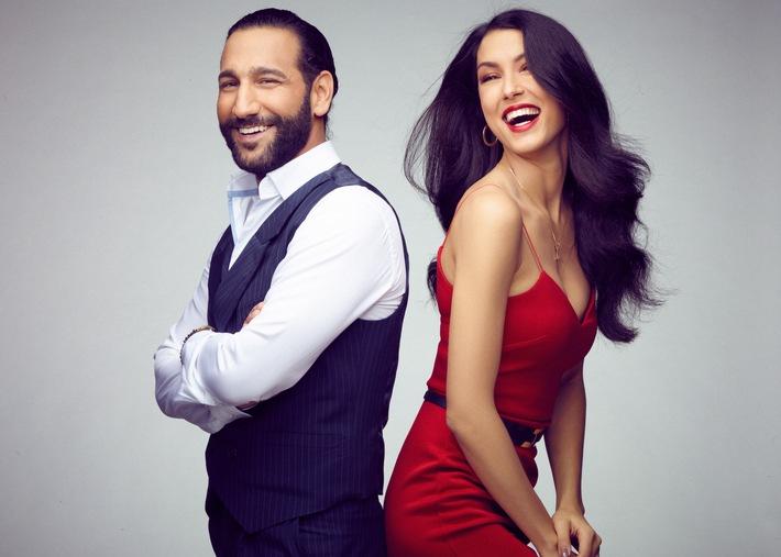 Let´s Dance-Star Massimo Sinato und Model Rebecca Mir bringen die Hamburger Meile am 03. März 2018 mit einer Live-Tanz-Show zum Glühen