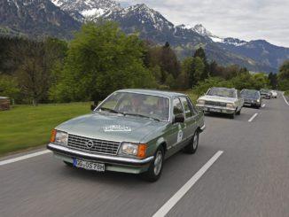 7. Bodensee-Klassik 2018 | Hoch, höher, am höchsten: In 180 Oldtimern vom Bodensee in die Alpen