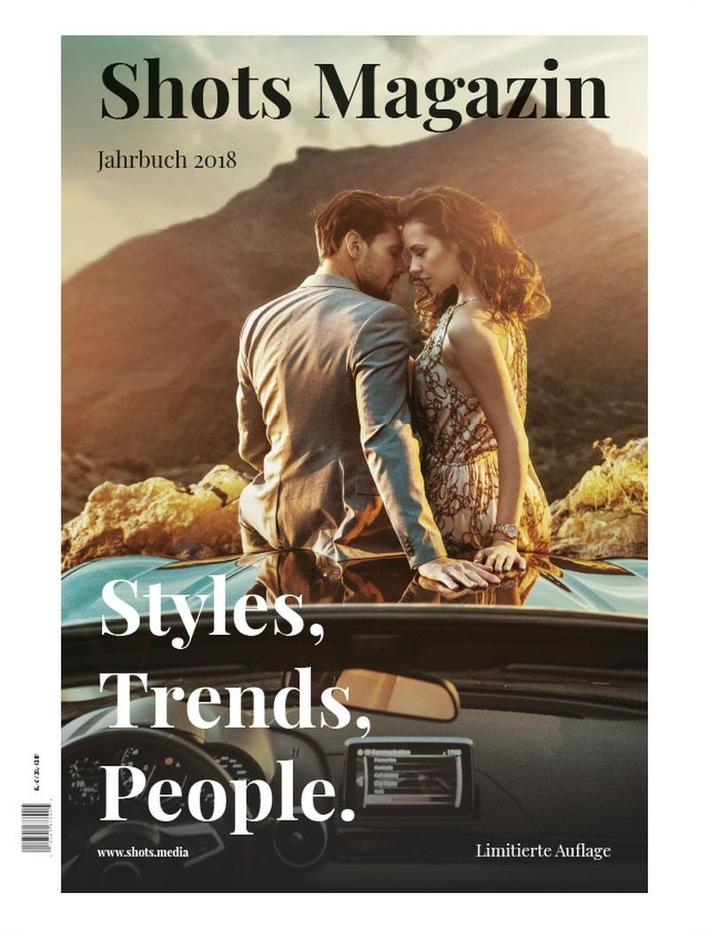 Das Shots Magazin Jahrbuch 2018 erscheint im August 2018
