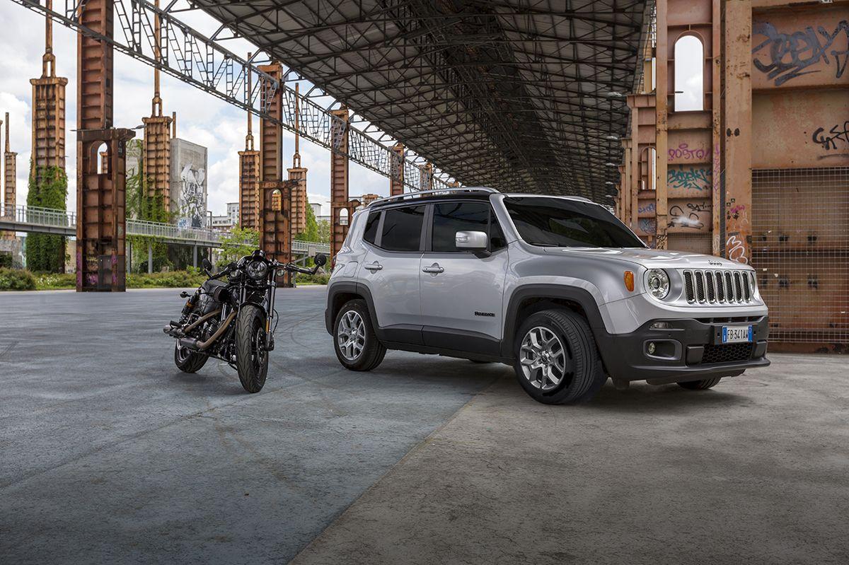 Harley-Davidson und Jeep mit Partnerschaft