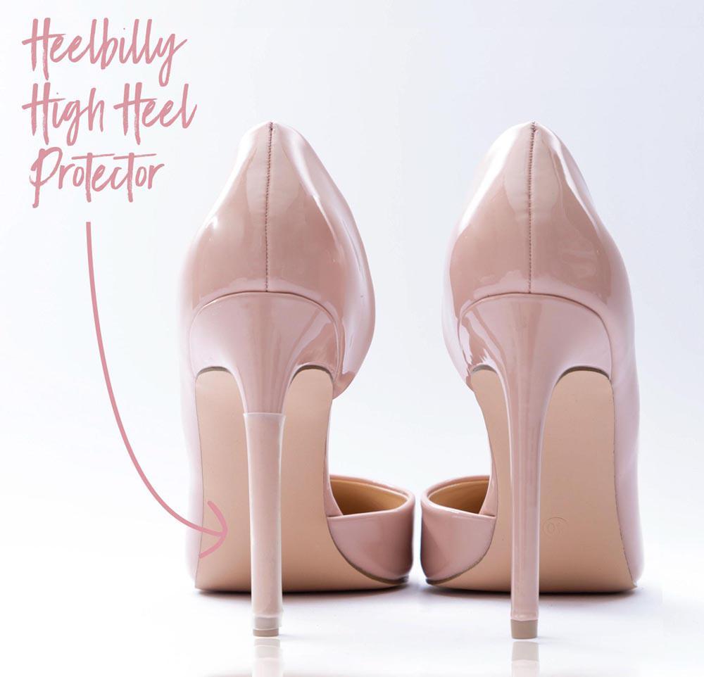 Bei genauem Hinschauen erkennt man den Heelbilly High Heel Protektor Moonflower auf dem Absatz