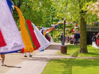 Das Vesakh Fest 2018 in Planen un Blomen Hamburg
