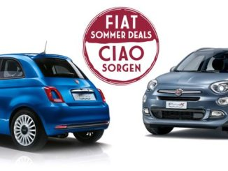 Die Fiat Sommerdeals locken