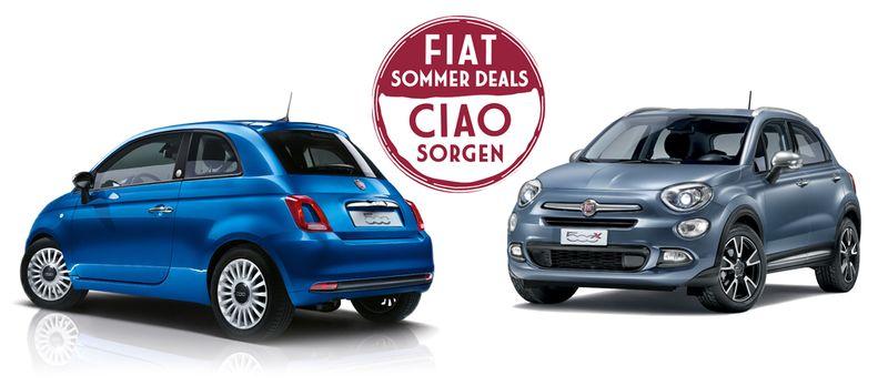 Die Fiat Sommerdeals locken