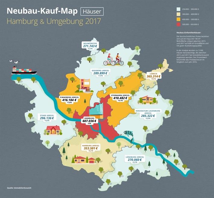 Neubau-Kauf-Map Häuser