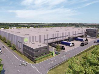Die neue Halle von B+S am Hamburger Hafen ist optimal auf die Anforderungen von Kontraktlogistik und