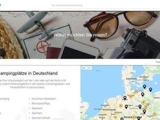 KoobCamp präsentiert die neue Seite Camping.de für deutschsprachige Touristen