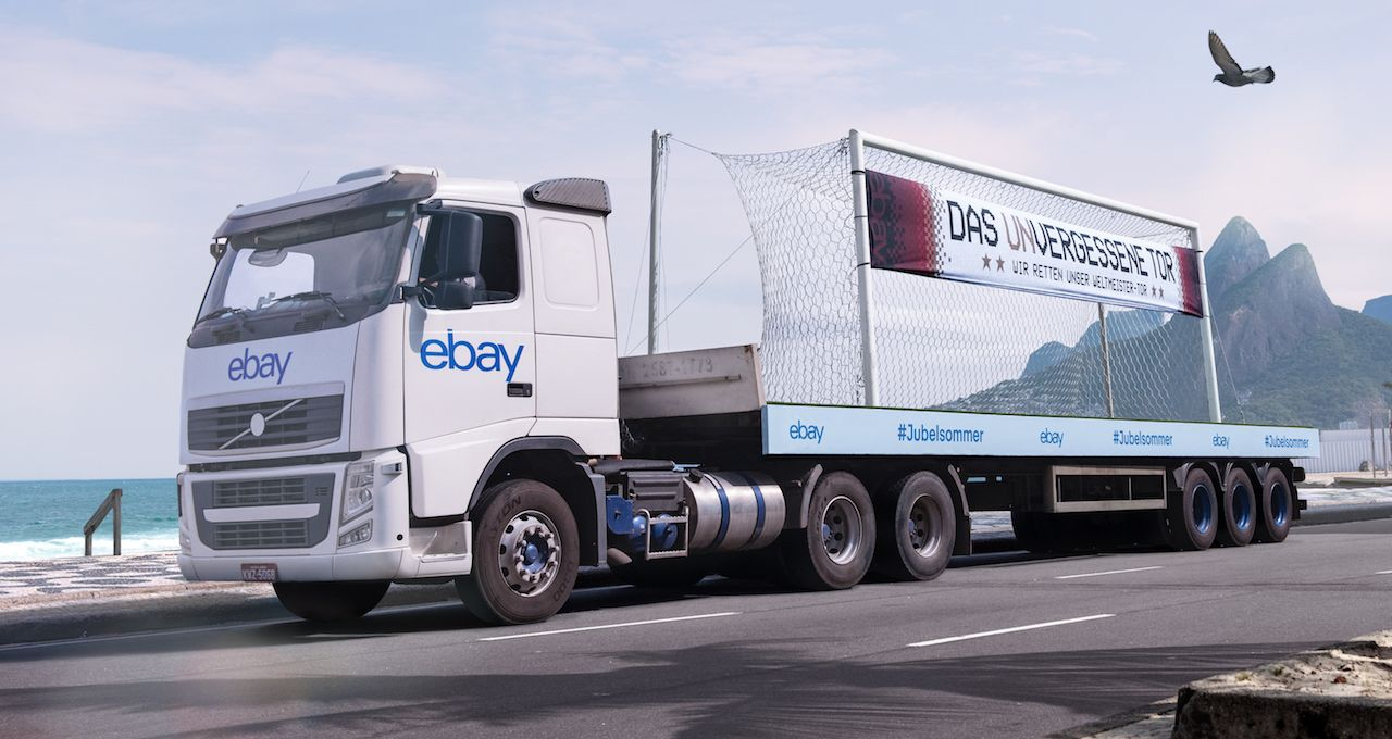 Dank Ebay: Das Weltmeister-Tor aus Rio ist gerettet