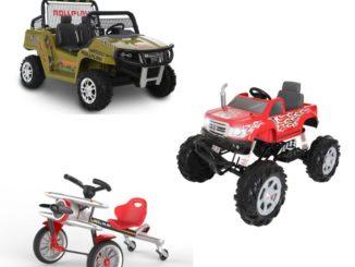 """Der """"Dino Explorer"""", der """"Monster Truck"""" und der """"Planedo"""" von ROLLPLAY"""