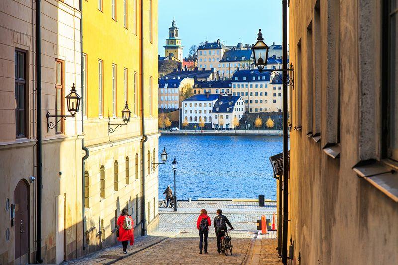 Die wunderschöne Altstadt von Stockholm