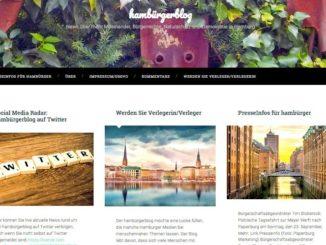 Optisch opulent mit menschennahen Themen - der neue hambürgerblog