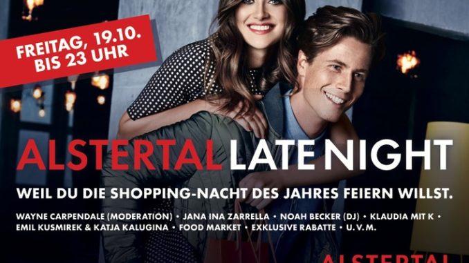 Shopping, Stars und Show im Alstertal-Einkaufszentrum
