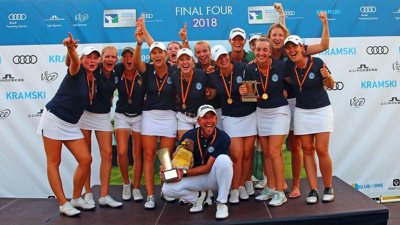 So sehen Sieger aus - Hamburgs Golf Damen