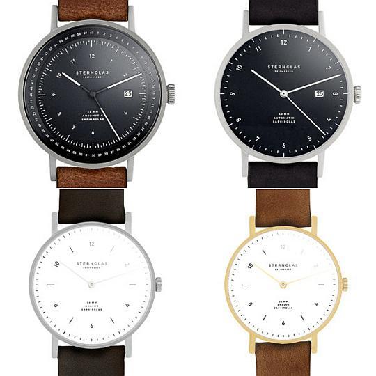 Bauhaus-Uhrenmarke aus Hamburg